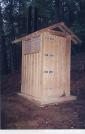 Brown Creek Mountain Privy by Uncle Wayne in Virginia & West Virginia Shelters
