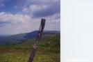 Cold Mountain Blaze by Uncle Wayne in Trail & Blazes in Virginia & West Virginia