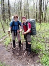 Dave and Dan by Uncle Wayne in Thru - Hikers