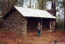 Derrick Knob Shelter by Uncle Wayne in North Carolina & Tennessee Shelters
