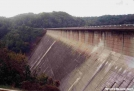 Fontana Dam , downstream side by Uncle Wayne in Special Points of Interest