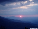 Sunset from Mt. Cammerer by Uncle Wayne in Views in North Carolina & Tennessee