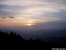 Sunrise from Mt. Cammerer by Uncle Wayne in Views in North Carolina & Tennessee