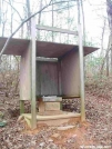 Hawk Mtn. Shelter Privy by Uncle Wayne in Hawk Mountain Shelter