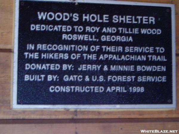 Wood\'s Hole Shelter Dedication
