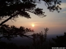 Sunset at Bears Den rocks by Tuxedo in Views in Virginia & West Virginia