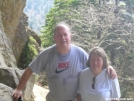 CaptChaos with wife at Alum Cave Bluff by CaptChaos in Faces of WhiteBlaze members