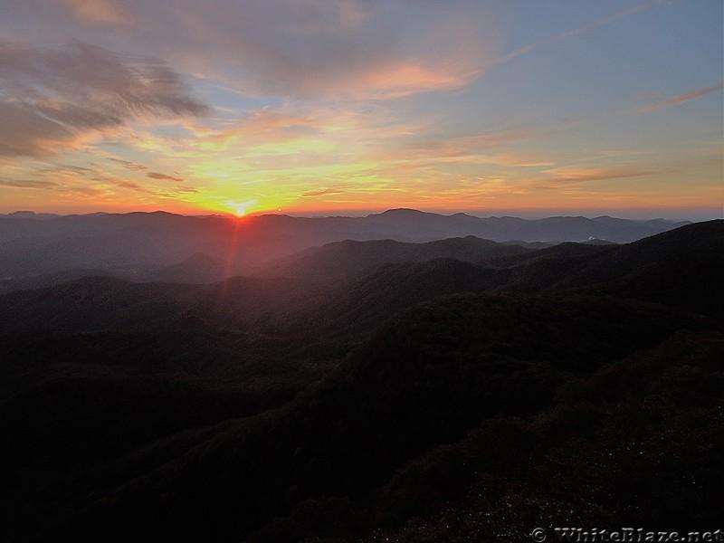 Albert Mountain Sunrise