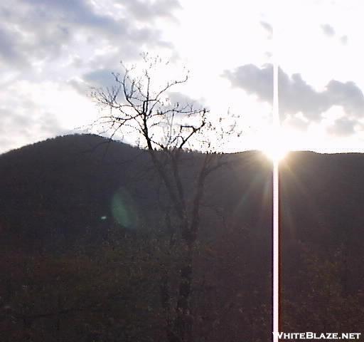 Sunrise Over Tray Mountain