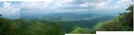 Cheoah Bald Panorama by Hikes in Rain in Trail & Blazes in North Carolina & Tennessee