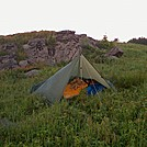 Bivouac on Hump Mountain