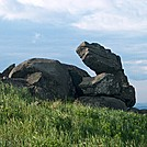 Stone Dragon on Little Hump Mountain