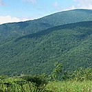 Overmountain Shelter View