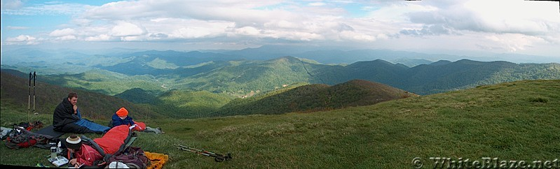 View from Big Bald