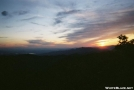 Standing Indian sunset