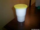 Lightweight coffee cup