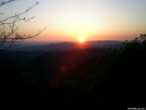 Sunset on Standing Indian Mtn. by Skidsteer in Views in North Carolina & Tennessee