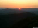 Sunset on Standing Indian Mtn.