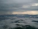 Albert Mountain After A Thunderstorm