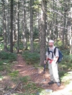 ascending Pleasant Pond Mountain by Askus3 in Trail & Blazes in Maine
