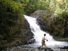 Lower falls on Pierce Pond Stream by Askus3 in Views in Maine