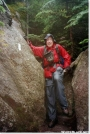 Below treeline on Mt. Katahdin by Askus3 in Trail & Blazes in Maine