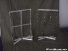 Lightweight external frames