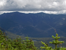 Looking From Kinsman Ridge To Franconia Ridge