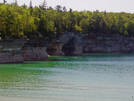 Pictured Rocks Shoreline by fancyfeet in North Country NST