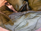 M65 Field Jacket Liner Mod - Sewn Pit Openings