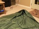 homemade primaloft quilt