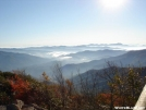 View from Mt. Cammerer Fire Tower by handlebar in Views in North Carolina & Tennessee