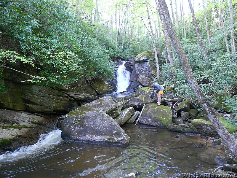 Upper Laurel Fork Falls