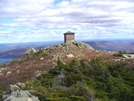 Avery Peak by Pedaling Fool in Trail & Blazes in Maine