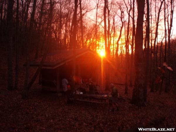 Low Gap Shelter, Georgia