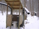 Groundhog Creek Shelter by barefoot in Trail & Blazes in North Carolina & Tennessee