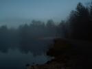 Moon over lake by vanwag in Views in Maryland & Pennsylvania