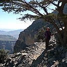 Lee on the Jebel Shams Balcony Walk, Oman by Patapsco in Other Trails