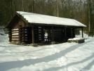 Quarry Gap shelter by bullseye in Maryland & Pennsylvania Shelters