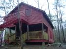 Upper Goose Pond cabin by bullseye in Massachusetts Shelters