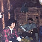 oct1978imp shelter pete n me by William Vaudrain in Views in New Hampshire
