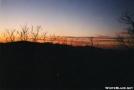 sun set from wildcat mountain