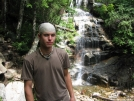 Ryan next to waterfall by ryan207 in Trail & Blazes in New Hampshire