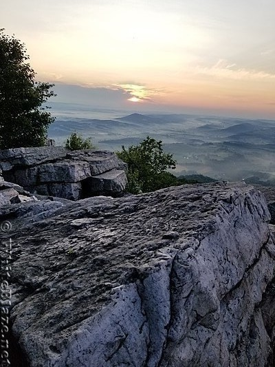 Pinnacle at sunrise PA
