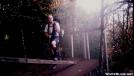 Crossing a stile in the GSMNP by goss man in Section Hikers