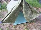 Camo Tyvek by Hana_Hanger in Tent camping