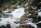 Melting April ice in GSMNP by Wonder in Trail & Blazes in North Carolina & Tennessee
