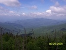 View From Clingmans Dome Walk Up