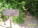 Famous Sign Northbound At At Newfound Gap by ShawnR80 in North Carolina &Tennessee Trail Towns