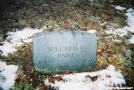 Grave of Millard F. Haire by steve hiker in Special Points of Interest